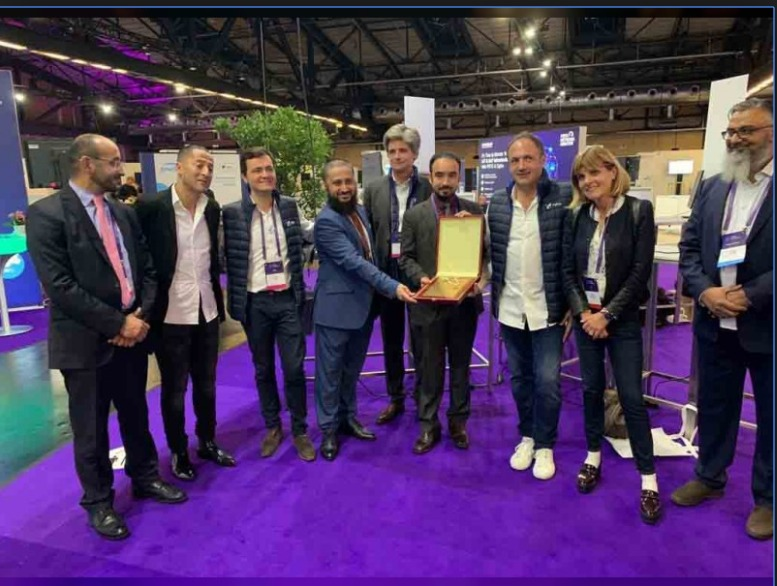 Abu Dhabi wins the Smart City award during the Sigfox connect event in Berlin 2019. Smart parking sensor
